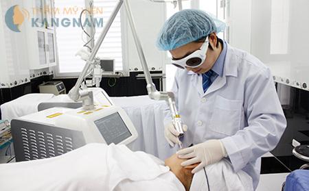 """5 """"tiêu chí vàng"""" của Laser CO2 Fractional trong điều trị mụn thịt"""