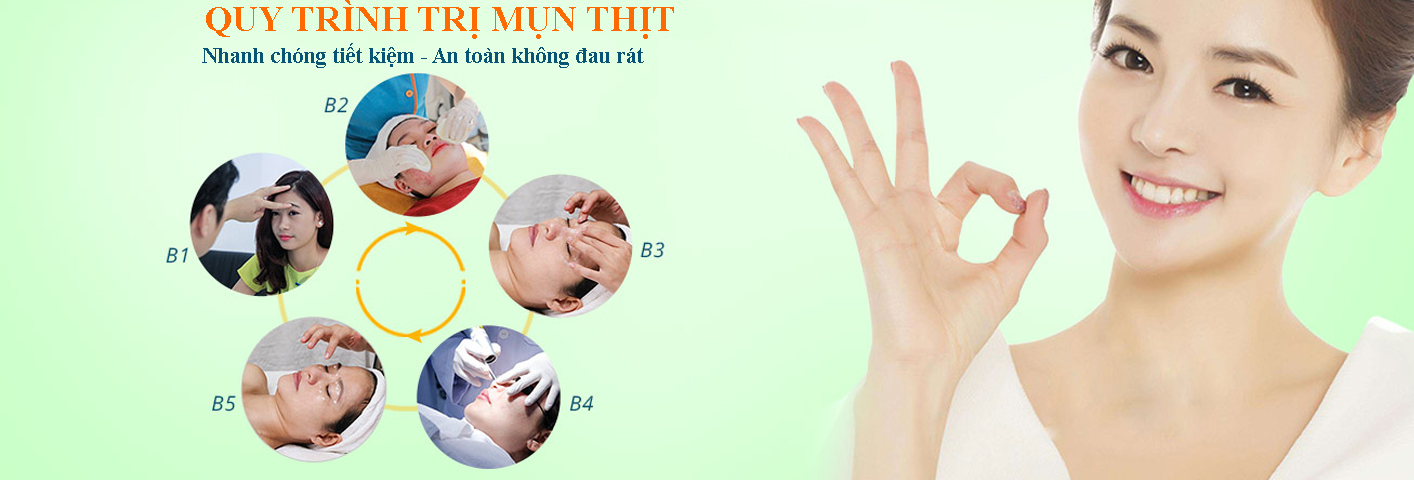 Quy trình điều trị mụn thịt